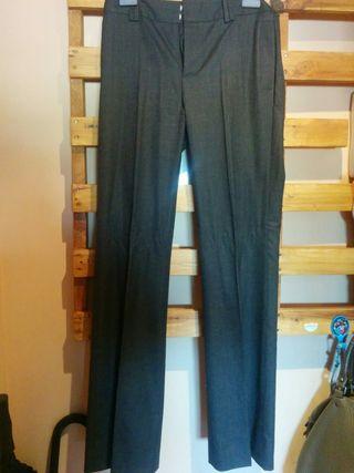 pantalón de vestir de zara