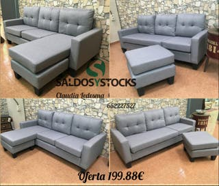 Sofa eco tela 184*130cm