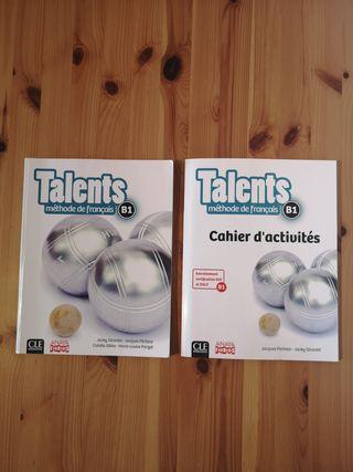 """Pack de libros """"Talents"""" - B1 - élève et activités"""