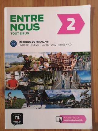 """Libro de texto: """"Entre Nous - Tout en un - A2"""""""