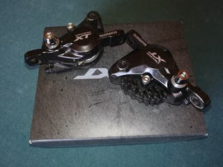pinzas freno disco Shimano xt