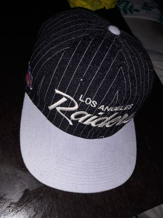 gorra vintage raiders años 90