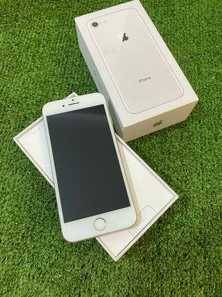 iPhone 8 64gb plata