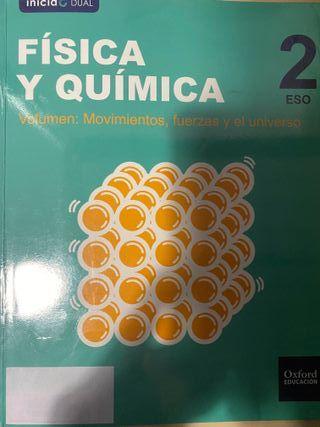 Libro Física y Química 2 ESO 9780190502430