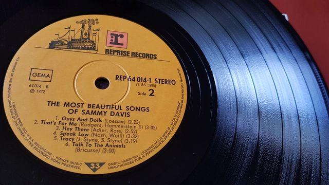 "Sammy Davis Jr.-Vinilo ""The Most Beautiful Songs"""