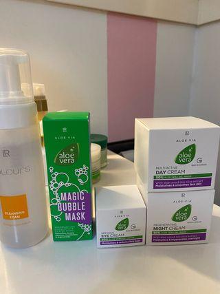 Tratamiento facial piel seca normal o deshidratada