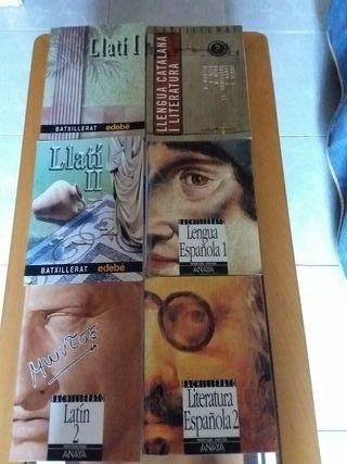 Libros de Texto - ANAYA - EDEBÉ - BACHILLERATO