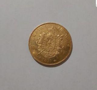 moneda de oro 32.25 gramos