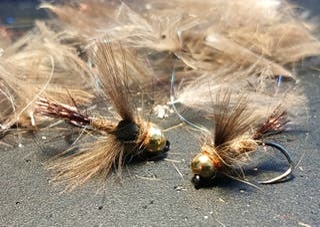 Señuelos pesca al hilo (ninfas y perdigones)