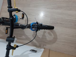 bici para niño con casco con luz incluida