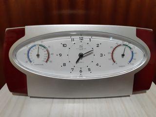 Reloj Termómetro Higrómetro