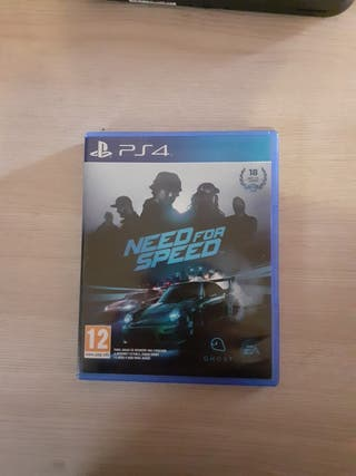 juego de ps4 need for speed