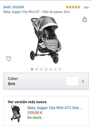 Silla de bebe city mini GT