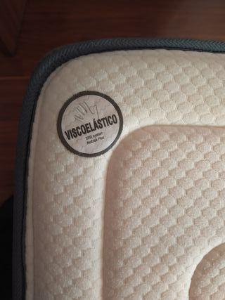 colchón viscolatex 1'35