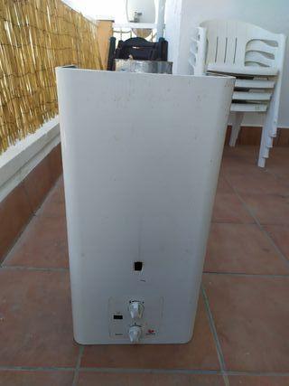 calentador de gas natural
