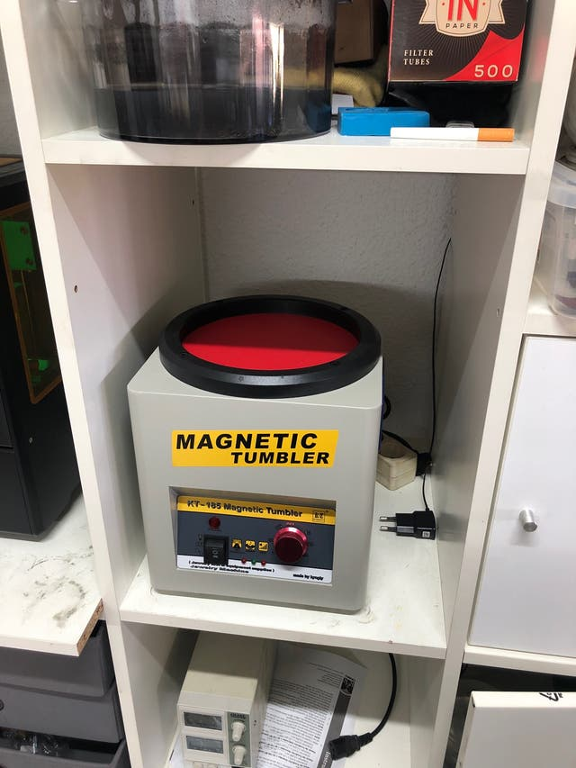 Pulidora magnética magneto