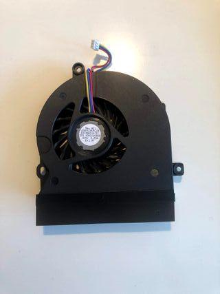 ventilador de la CPU portátil toshiba satélite