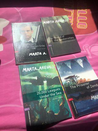 Pack de libros de lectura en inglés