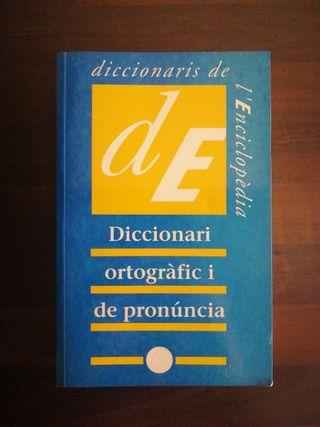 DICCIONARI ORTOGRÁFIC Y DE PRONUNCIA