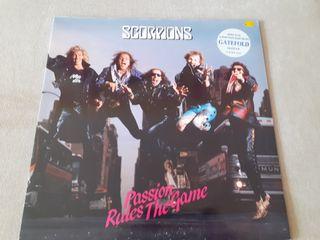 Scorpions vinilo Passion rules the game maxisingle