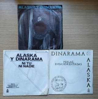 Disco de Vinilo Single Oferta Alaska y Dinarama