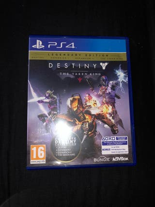 PS4 Destiny The Taken King
