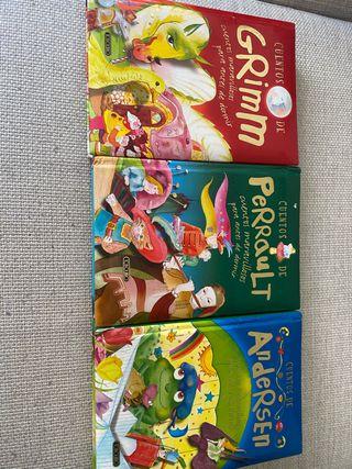 Cuentos infantiles Andersen, Perrault y Grimm