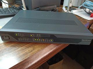 Router Cisco 870 adsl rdsi 3G