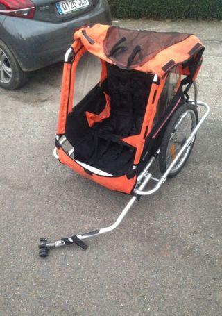 carrito para bicicleta