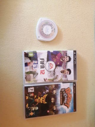 Fifa 12, lemmings y ratchet and clank psp