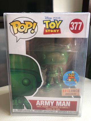 FUNKO POP, ARMY MAN 377, (TOY STORY)Nuevo