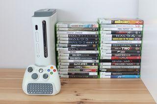 XBOX 360 con 35 juegos