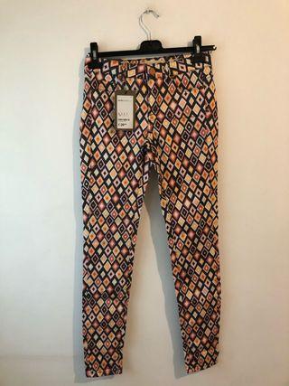 Pantalón rombos colores