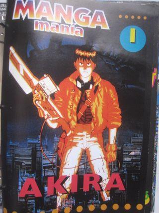fascículos de la colección manga manía mangamanía