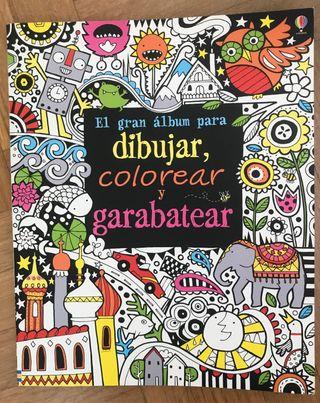 Libro para dibujar, colorear y garabatear