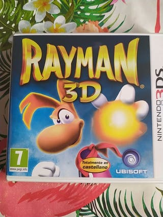 Rayman 3D Nintendo 3Ds