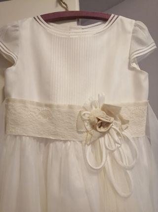 precioso vestido comunión niña Tizzas-Corte Inglés