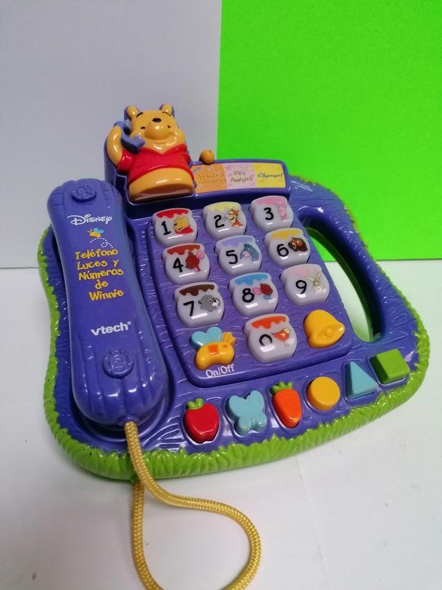 TELÉFONO WINNIE DE POOH PERFECT!!