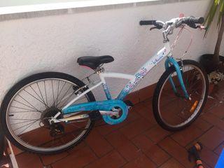 Bicicleta niña 24'