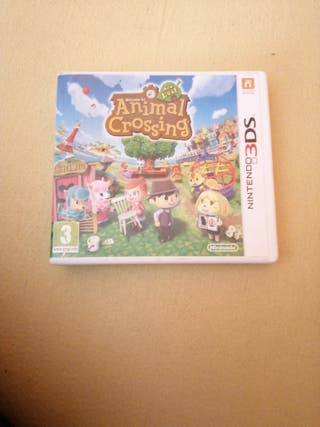 Animal crossing new leaf 3ds con caja