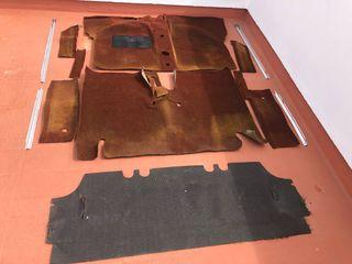 Tapicería suelo Simca 1200 Ti
