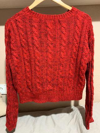Jersey rojo corto