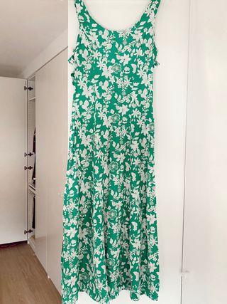 Vestido largo Zara talla S