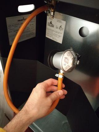 Estufa gas llama azul HJM 4200