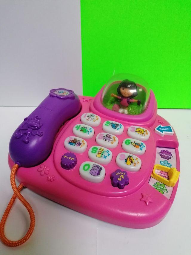 TELEFONO INTERACTIVO DE DORA LA EXPLORADORA!!
