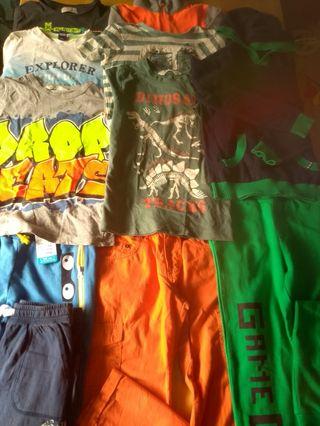 lote completo ropa niño 6 años deportiva