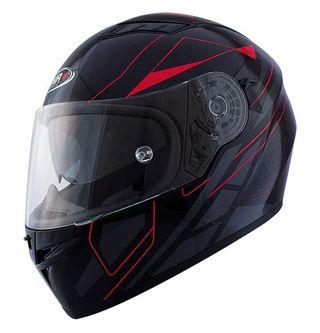 Casco moto integral shiro GAFA SOLAR 600 rojo ma