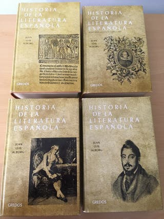 Historia de la Literatura Española.Juan Luis Albor