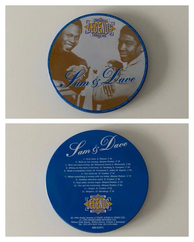 CD Sam & Dave - Grandes Éxitos