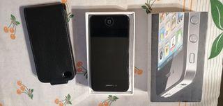 iPhone 4 en su caja y en muy buen estado